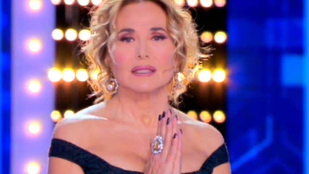 Barbara d'Urso fa le condoglianze a Bassetti