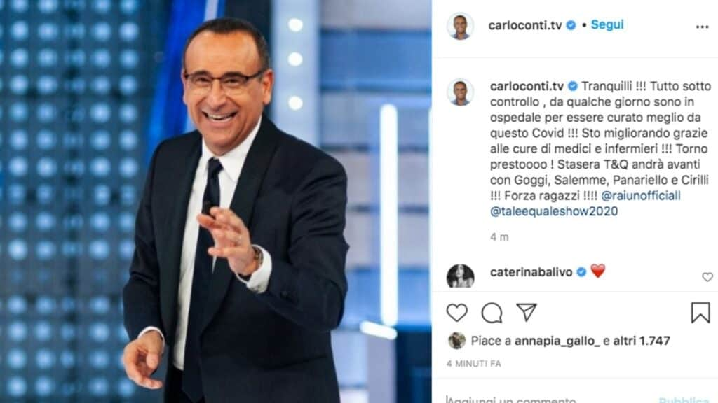 carlo conti instagram