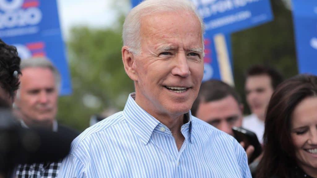 Joe Biden durante un congresso