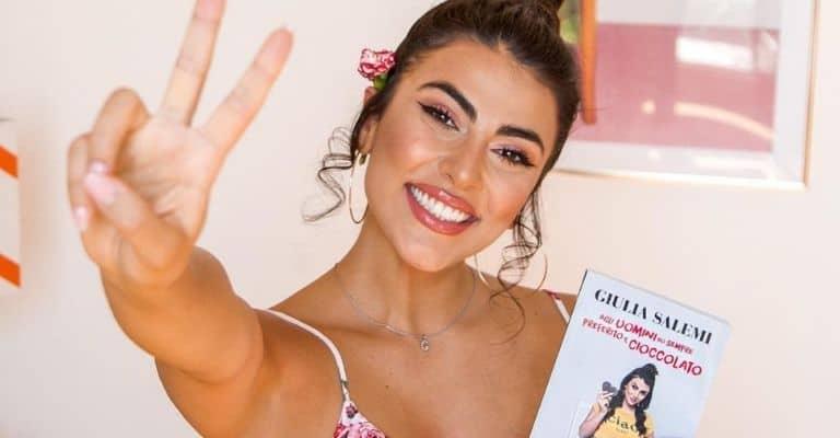 giulia salemi pubblica il suo primo libro