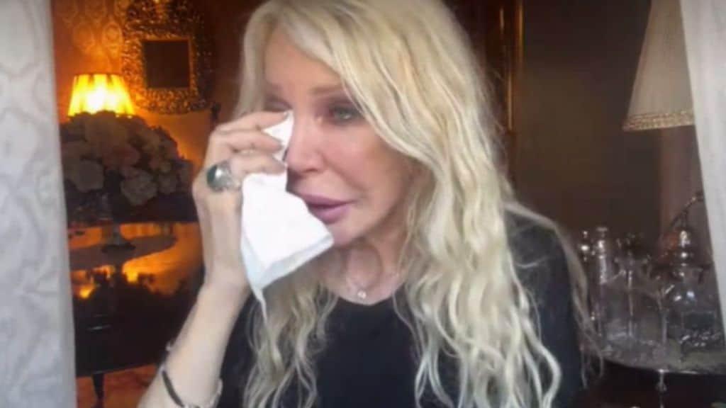 Ivana Spagna in lacrime per Stefano D'Orazio