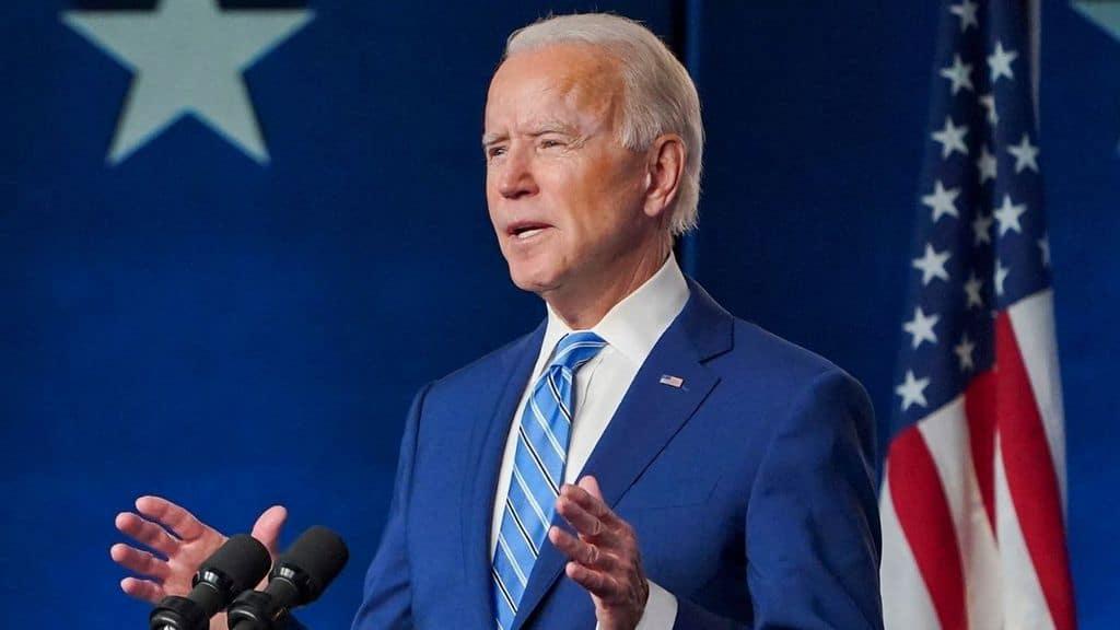 Il candidato Presidente Joe Biden