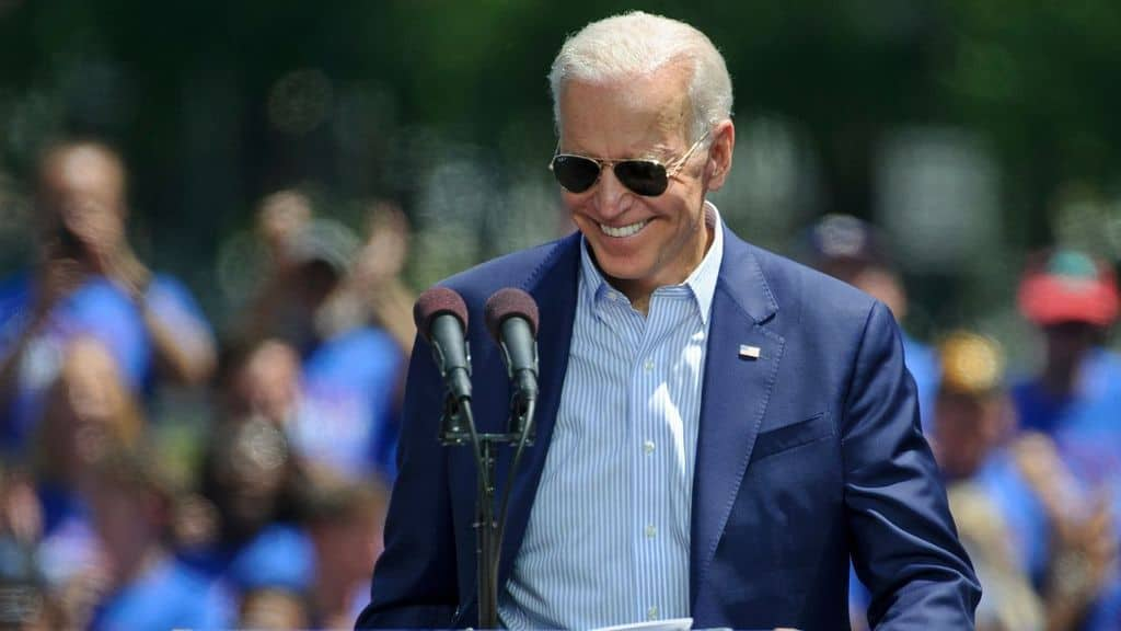 Il candidato alle presidenziali Joe Biden