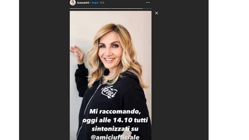 Lorella Cuccarini debutta ad Amici 20