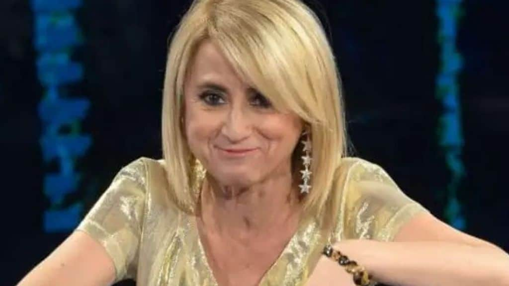 La comica torinese Luciana Littizzetto