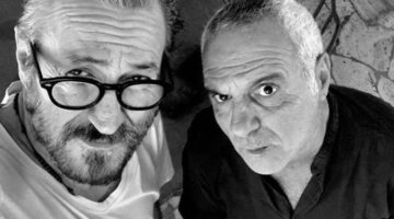 Giorgio Panariello e Marco Giallini