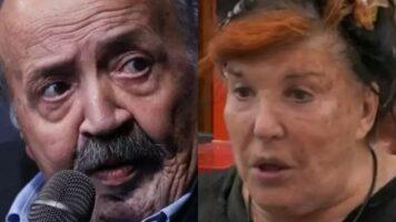 La contessa Patrizia De Blanck e il conduttore Maurizio Costanzo