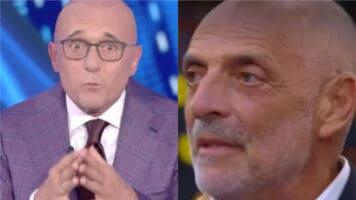 Alfonso Signorini e Paolo Brosio