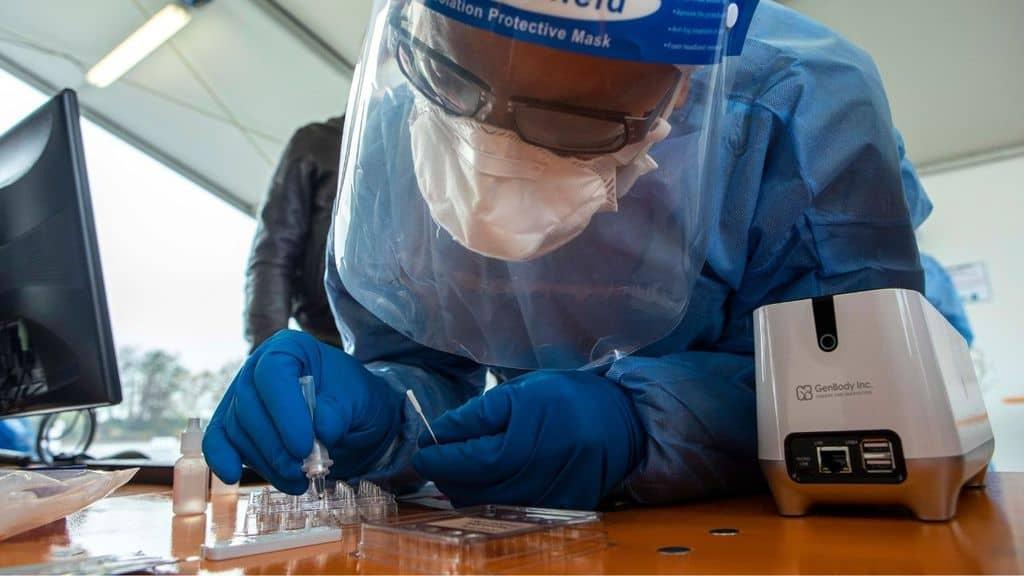 test tampone covid coronavirus