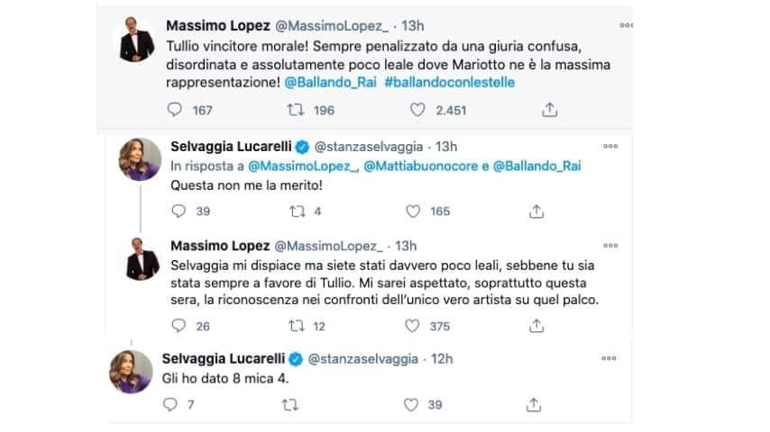 Lo scontro tra Massimo Lopez e Selvaggia Lucarelli su Twitter