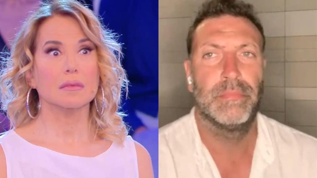 Barbara d'Urso e Daniele Leali