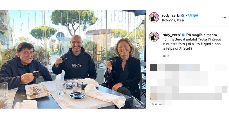 Post di Rudy Zerbi su Instagram