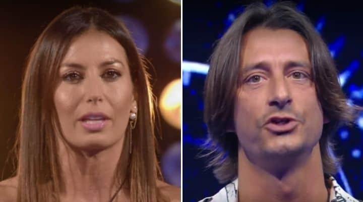 Elisabetta Gregoraci e Francesco oppini al GF Vip