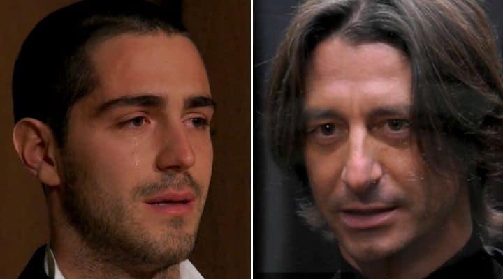 Tommaso Zorzi e Francesco Oppini al GF Vip
