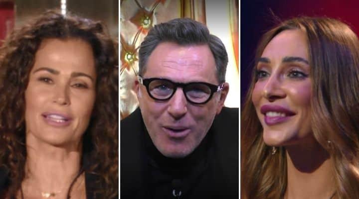 Filippo Nardi, Samantha De Grenet e Sonia Lorenzini al GF Vip