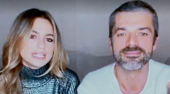 Cristina Marino e Luca Argentero a Verissimo