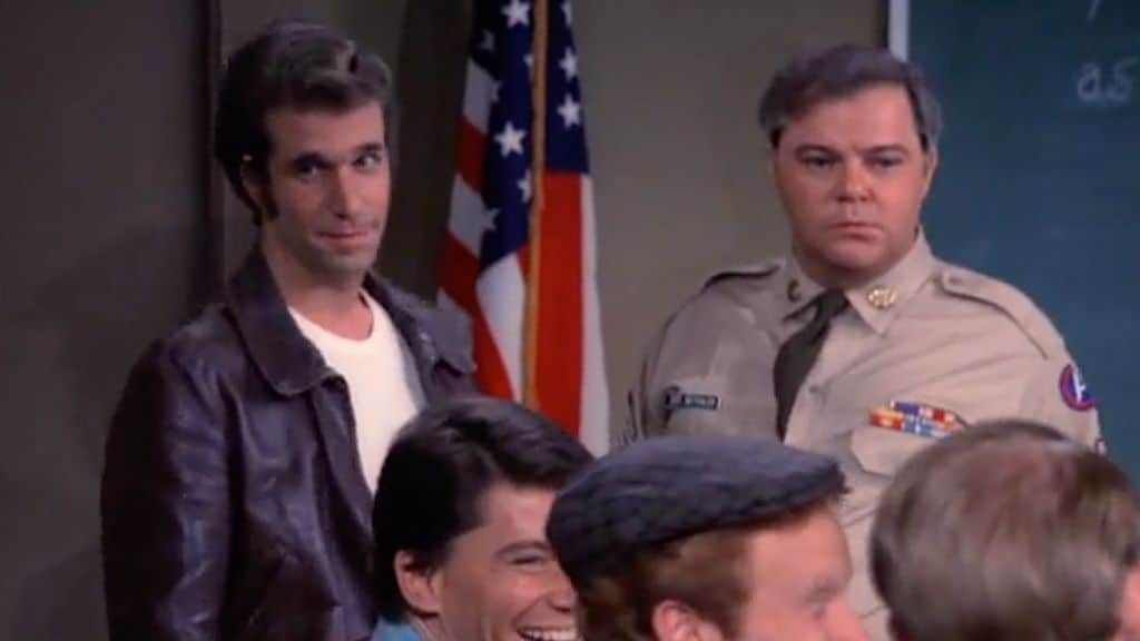 Warren Berlinger in Happy Days