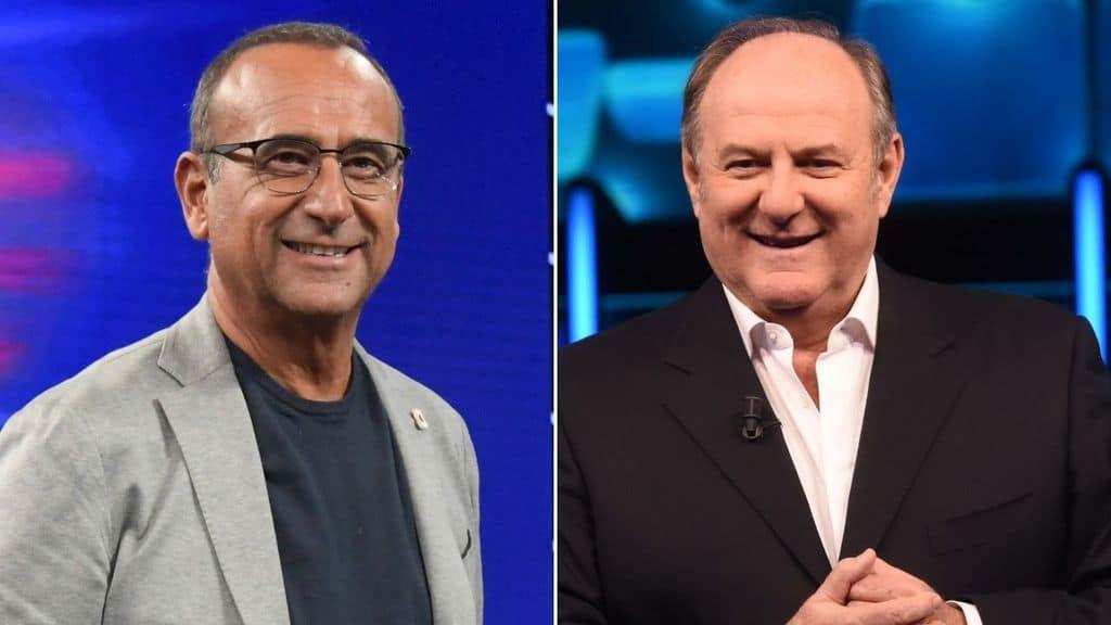 Carlo Conti e Gerry Scotti