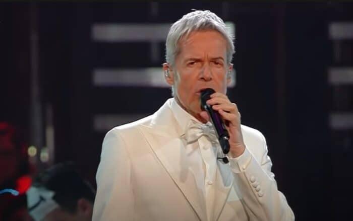 Il cantautore Claudio Baglioni