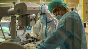 Medici in terapia intensiva per il Coronavirus