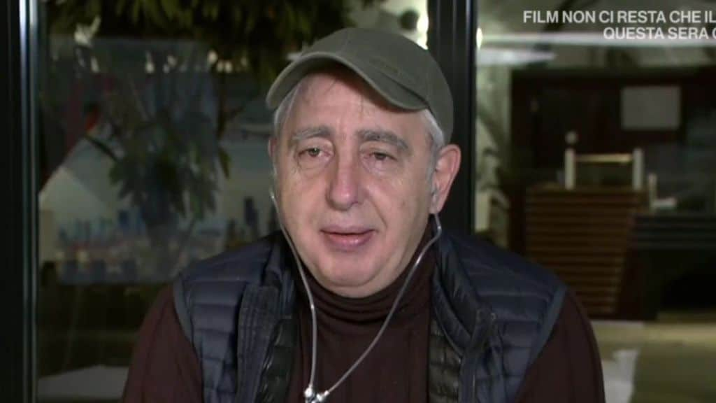 erminio sinni in uno screenshot durante un'intervista