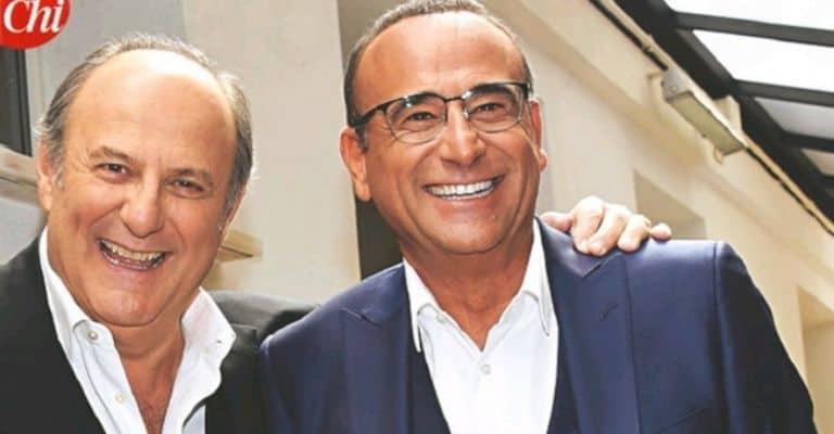 Gerry Scotti e Carlo Conti su Chi
