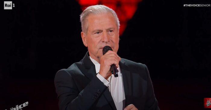 Il cantante Giulio Todrani
