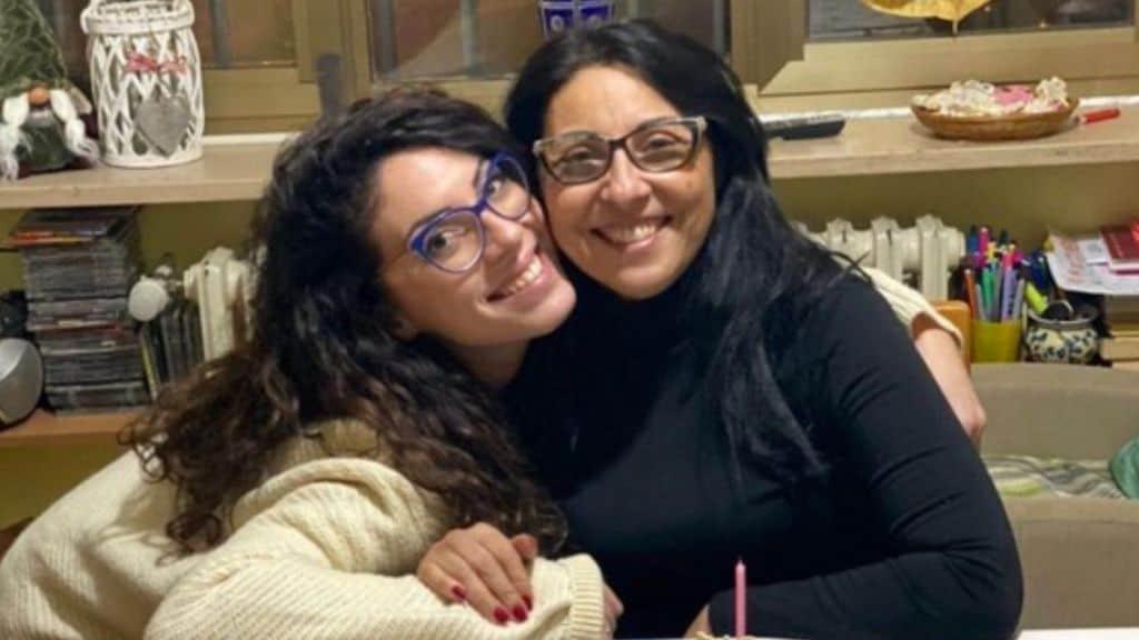 Giusy con la mamma Cristina Messina, uccisa dall'ex