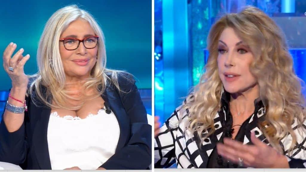 Mara Venier e Gabriella Carlucci a Domenica In