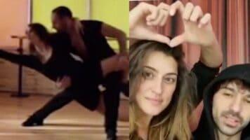 Elisa Isoardi balla con Oradei ed Elisa Isoardi con Todaro