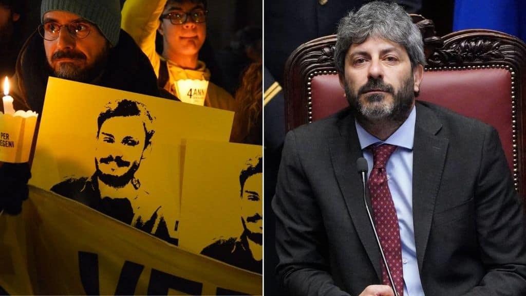 Manifestazioni per Giulio Regeni e Roberto Fico