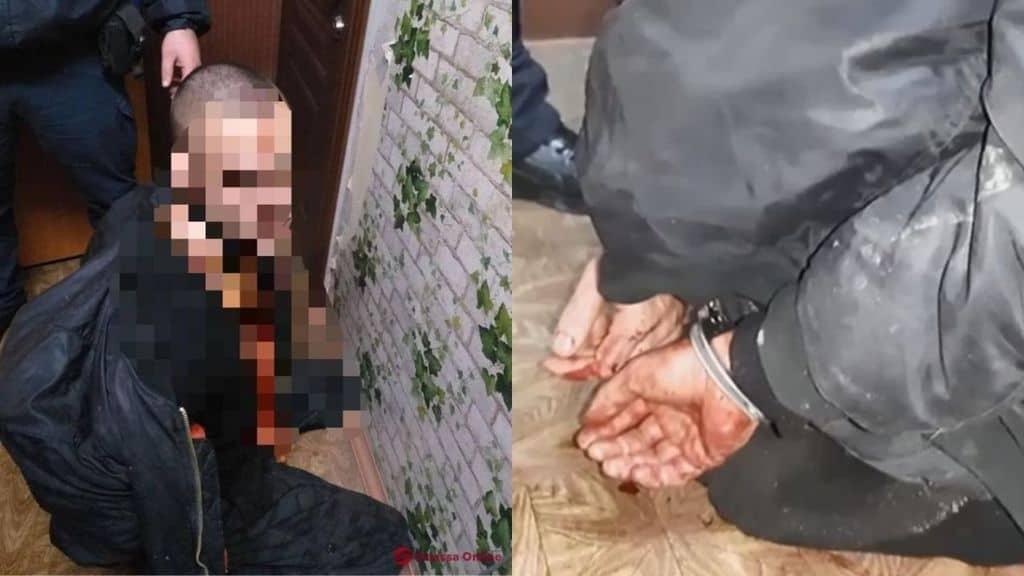 Dmitry Ponomarenko immagini polizia