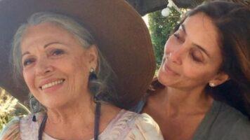 Valeria Fabrizi con la figlia Giorgia