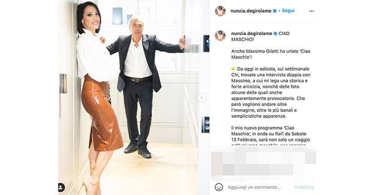 Post di Nunzia De Girolamo su Instagram
