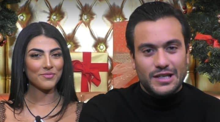 Giulia Salemi e Pierpaolo Pretelli al GF Vip