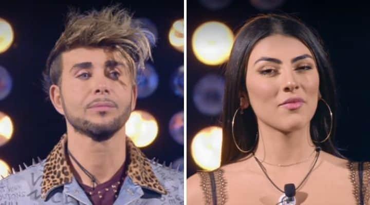 Giacomo Urtis e Giulia Salemi al GF Vip