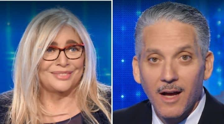 Mara Venier e Beppe Fiorello a Domenica In