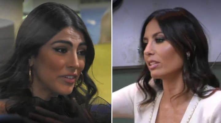 Giulia Salemi e Elisabetta Gregoraci al GF Vip