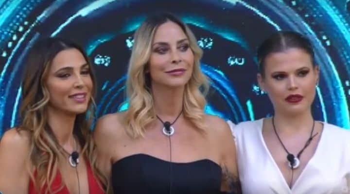 Stefania Orlando, Cecilia Capriotti e Carlotta Dell'Isola al GF Vip