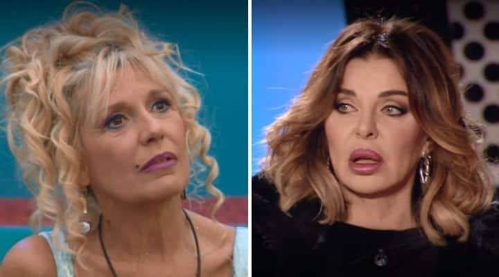 Maria Teresa Ruta e Alba Parietti al GF Vip