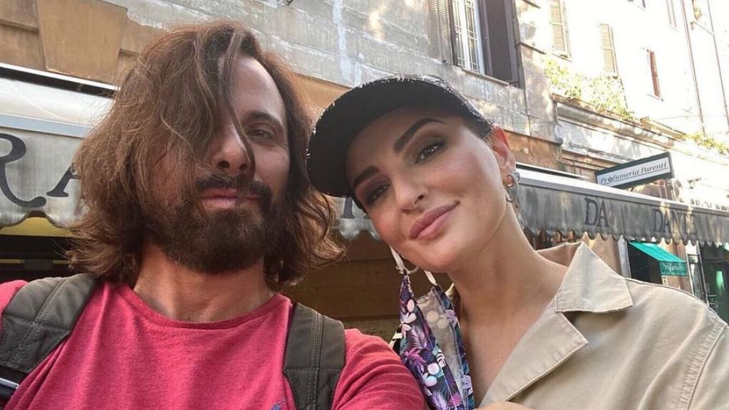 Arisa e il fidanzato Andrea Di Carlo
