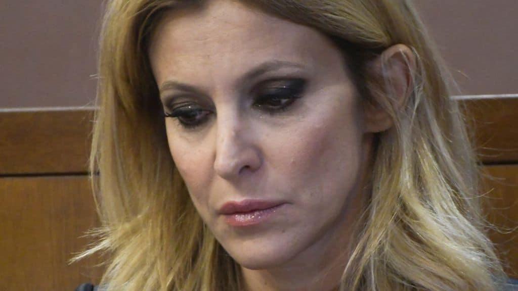 Adriana Volpe e il matrimonio in crisi con Roberto Parli