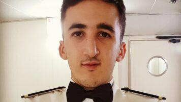 Alessio Gaspari, terzo ufficiale di coperta, di Costa Crociere scomparso