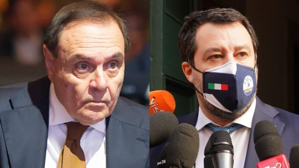 Crisi di Governo: Matteo Salvini parla di favori di Conte a Mastella, lui lo querela