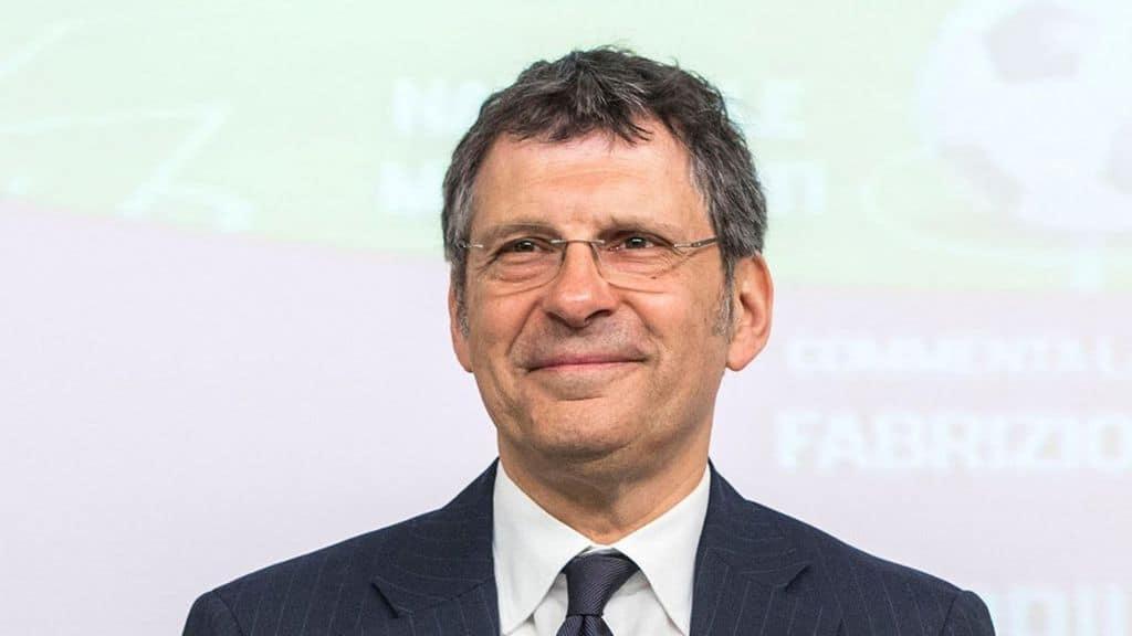Il conduttore Fabrizio Frizzi