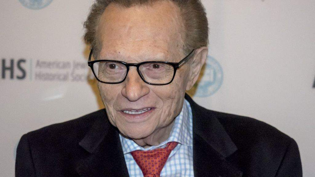 Larry King ad un evento
