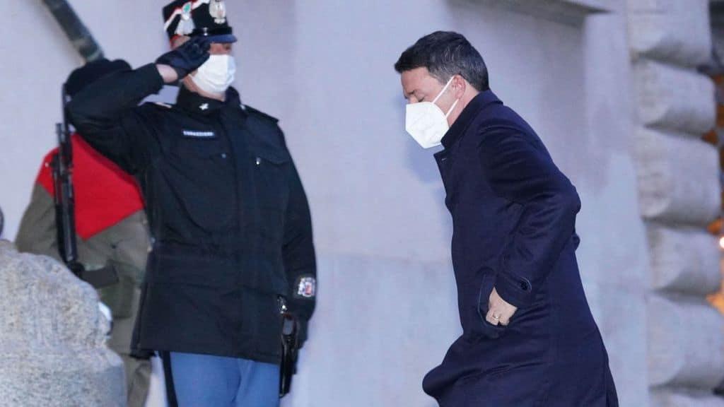Matteo Renzi al Quirinale da Mattarella