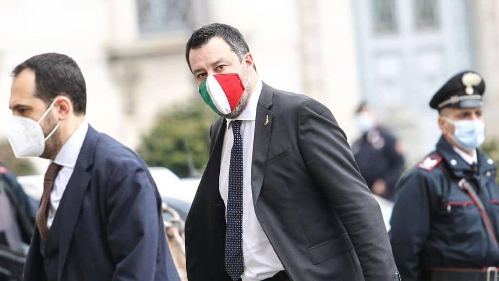 Matteo Salvini al Quirinale per le consultazioni
