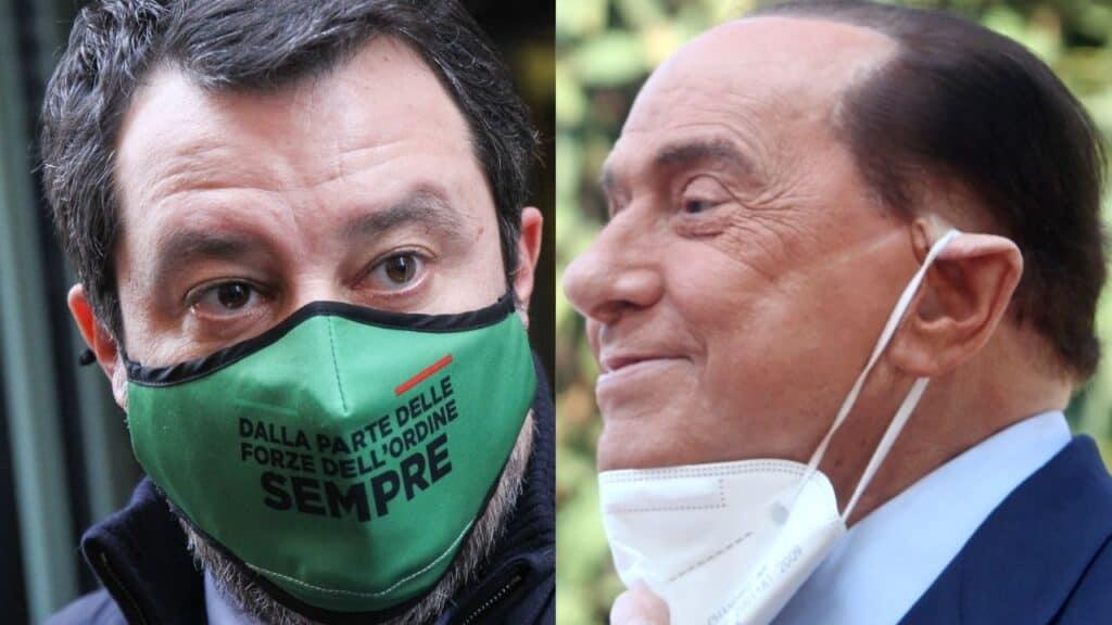 Silvio Berlusconi candidato al Quirinale: l'ipotesi di Matteo Salvini