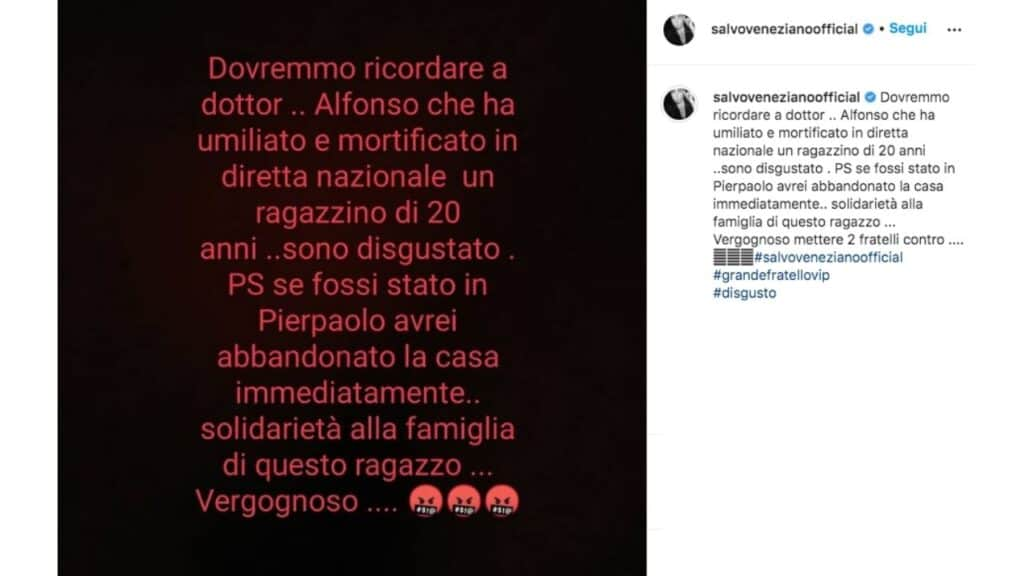 salvo veneziano post instagram